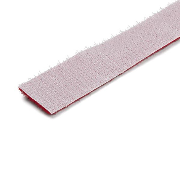 StarTech 25ft. Hook and Loop Roll - Red - Reusable Product Image 3
