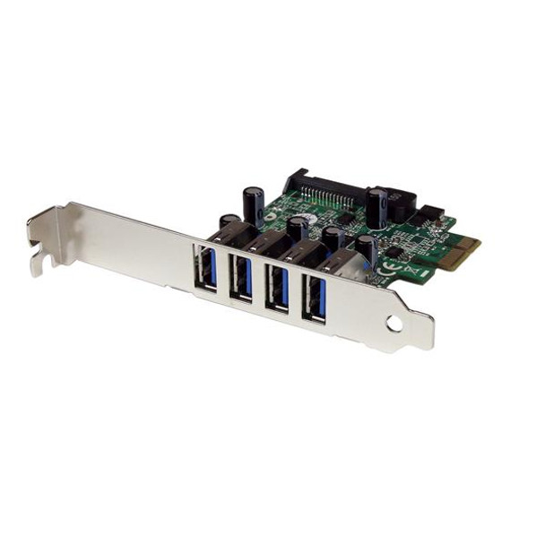 Image for StarTech 4 Port USB 3.0 PCI Express Card with UASP Support AusPCMarket
