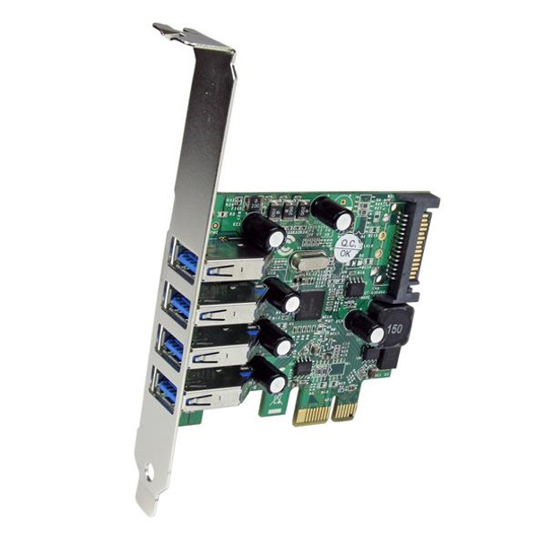 StarTech 4 Port USB 3.0 PCI Express Card with UASP Support Product Image 2