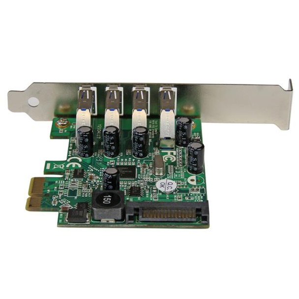 StarTech 4 Port USB 3.0 PCI Express Card with UASP Support Product Image 4