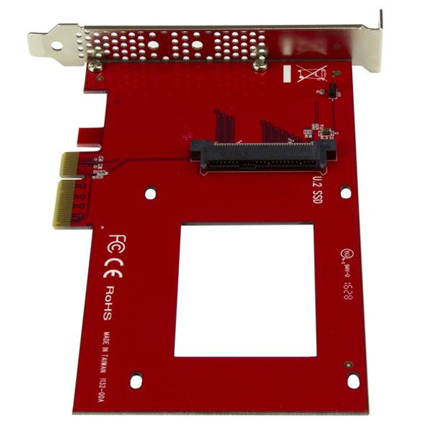 StarTech U.2 to PCIe Adapter - 2.5in U.2 NVMe SSD - SFF-8639 - x4 PCIe Product Image 3