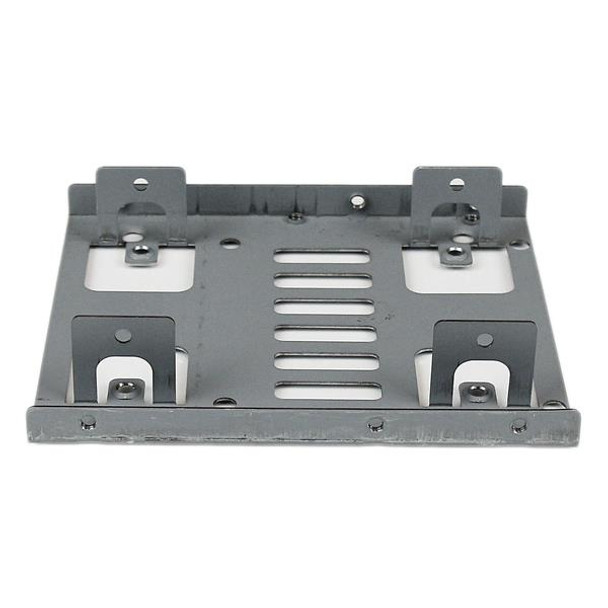StarTech Dual 2.5in SATA HDD/SSD to 3.5in Bay Mounting Bracket Adapter Product Image 3