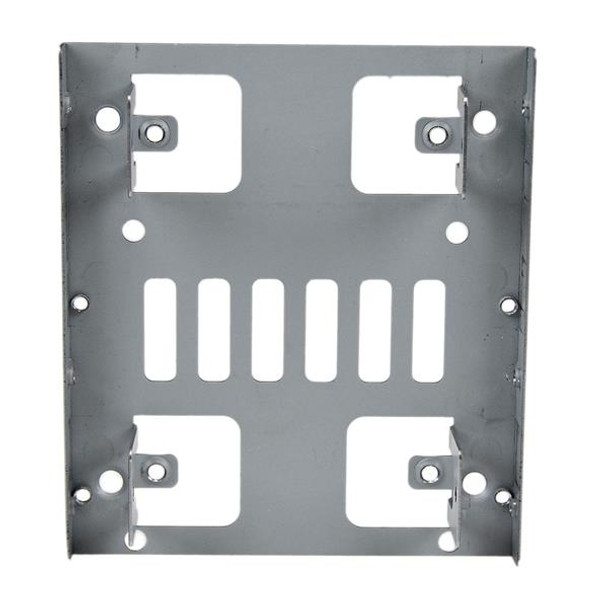 StarTech Dual 2.5in SATA HDD/SSD to 3.5in Bay Mounting Bracket Adapter Product Image 4