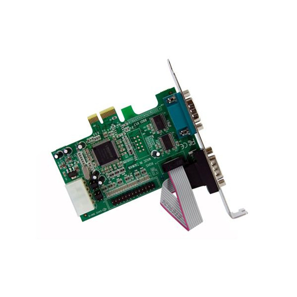 StarTech 2S1P Port PCI Express Parallel Serial Combo Card with 16550 Product Image 2
