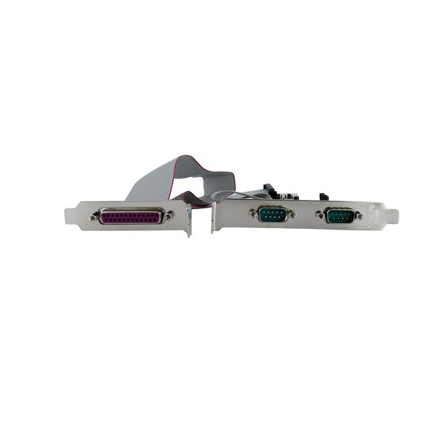 StarTech 2S1P Port PCI Express Parallel Serial Combo Card with 16550 Product Image 3