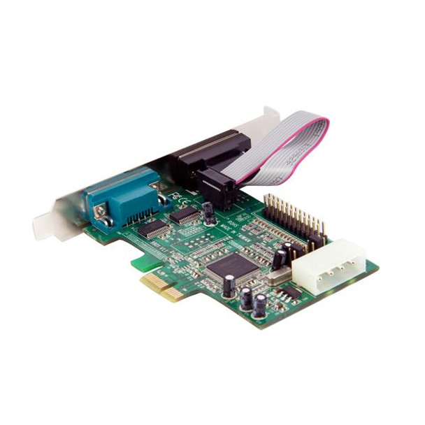 StarTech 2S1P Port PCI Express Parallel Serial Combo Card with 16550 Product Image 4