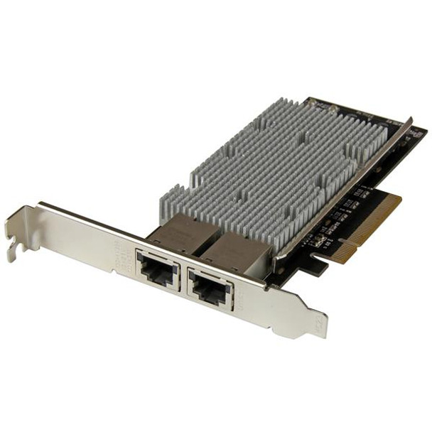 Image for StarTech 2-Port PCIe 10G network adapter with Intel X540 chipset AusPCMarket