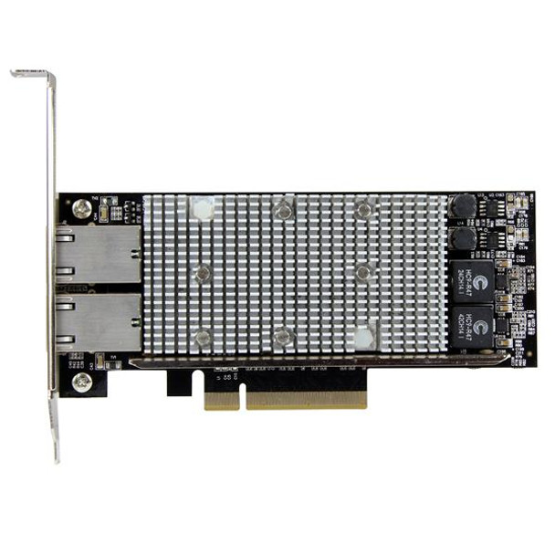 StarTech 2-Port PCIe 10G network adapter with Intel X540 chipset Product Image 2
