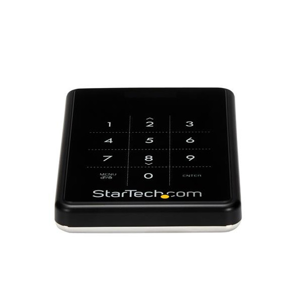 StarTech Encrypted External Hard Drive USB 3 SATA Portable HDD Enclosure Product Image 2