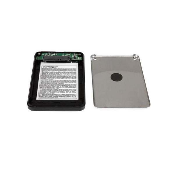 StarTech Encrypted External Hard Drive USB 3 SATA Portable HDD Enclosure Product Image 3