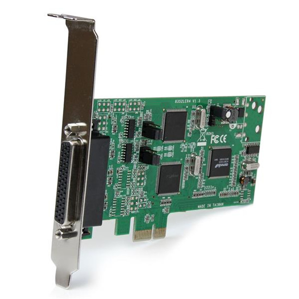 StarTech 4Port Dual Profile PCI Express RS232 RS422 RS485 Serial Card Product Image 4