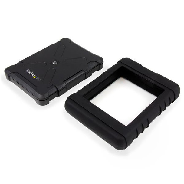 StarTech USB 3.0 to 2.5in SATA 6Gbps rugged drive enclosure Product Image 3