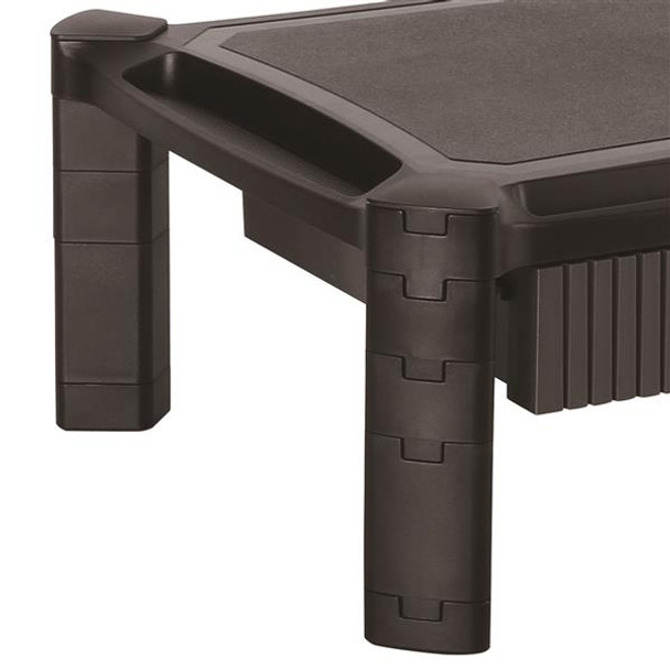 StarTech Computer Monitor Riser Stand with Drawer - Height Adjustable Product Image 3