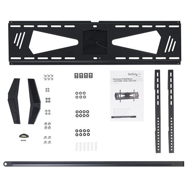 StarTech Low Profile TV Mount - Fixed - TV Wall Mount for 37 - 75in TV Product Image 5
