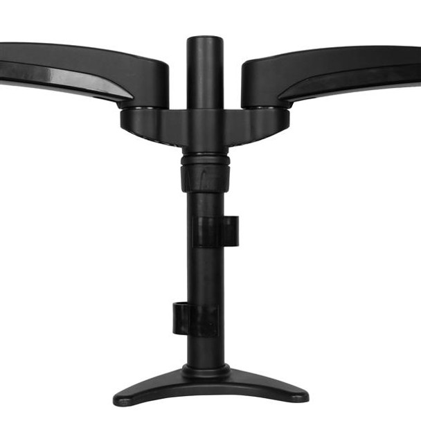 StarTech Desk Mount Dual Monitor Arm Articulating Height Adjustable Product Image 4