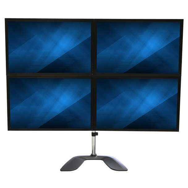 StarTech Quad-Monitor Stand - For up to 32in VESA Mount Monitors Product Image 4
