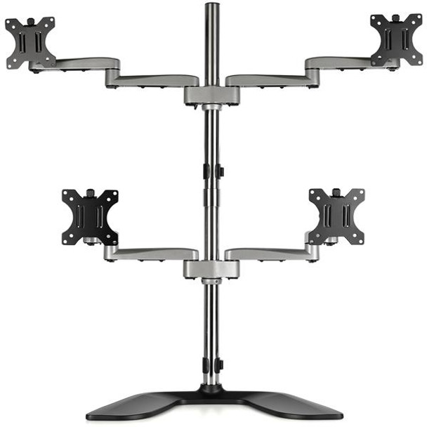 StarTech Quad-Monitor Stand - For up to 32in VESA Mount Monitors Product Image 5