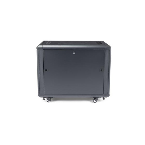StarTech 12U 29in Knock-Down Server Rack Cabinet with Casters Product Image 3