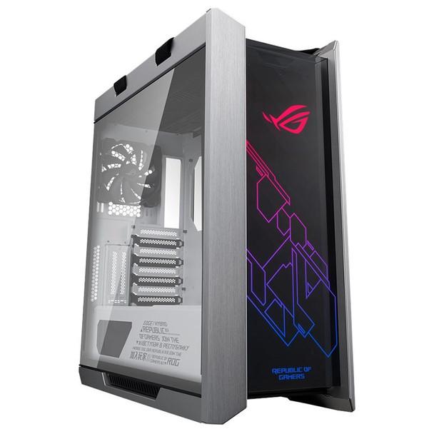 Image for Asus ROG Strix Helios GX601 RGB Tempered Glass Mid-Tower E-ATX Case - White AusPCMarket