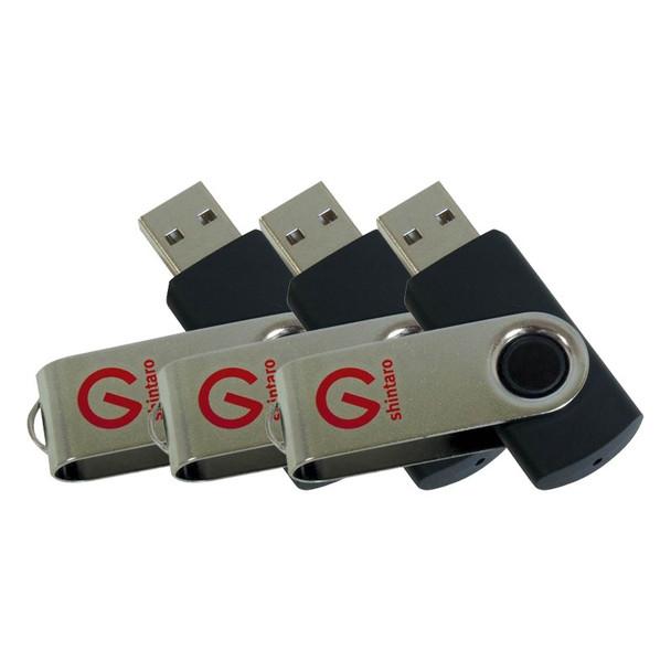 Image for Shintaro 8GB Rotating Pocket USB Drive - 3 Pack AusPCMarket