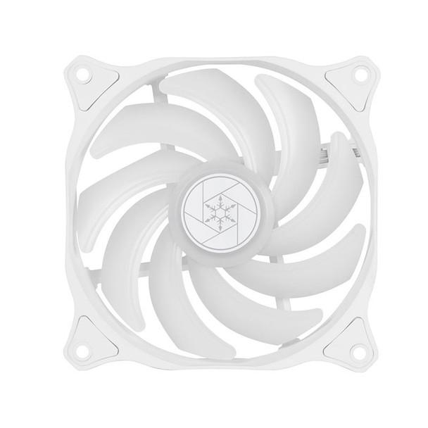 SilverStone Air Blazer 120R 120mm ARGB PWM Case Fan - White Product Image 3