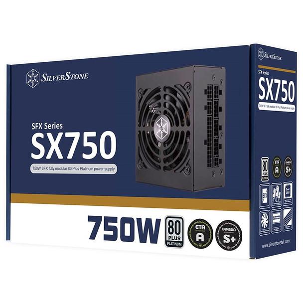 SilverStone SFX SX750-PT 750W 80+ Platinum Fully Modular Power Supply Product Image 11