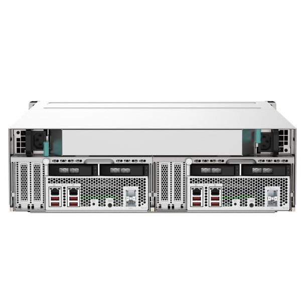 QNAP GM-1001 Gemini 16-Bay Diskless NAS Intel Xeon Quad-Core 8GB RAM Product Image 2
