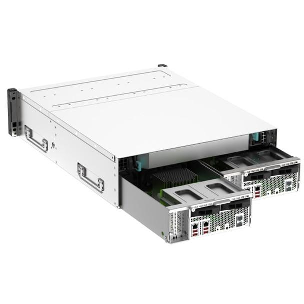 QNAP GM-1001 Gemini 16-Bay Diskless NAS Intel Xeon Quad-Core 8GB RAM Product Image 3