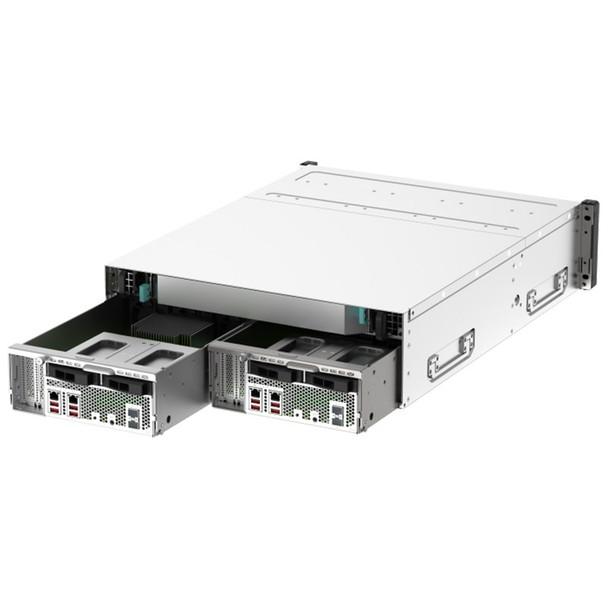QNAP GM-1001 Gemini 16-Bay Diskless NAS Intel Xeon Quad-Core 8GB RAM Product Image 4