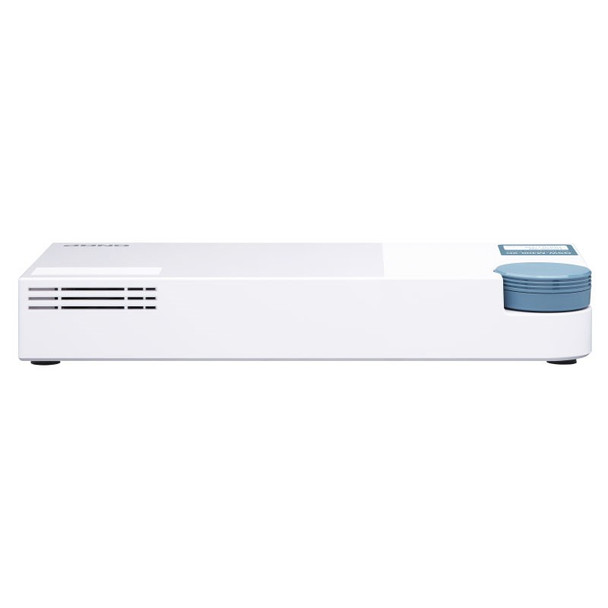 QNAP QSW-M408-2C 8-Port GbE RJ45 + 4-Port 10GbE SFP+ Web Managed Desktop Switch Product Image 2