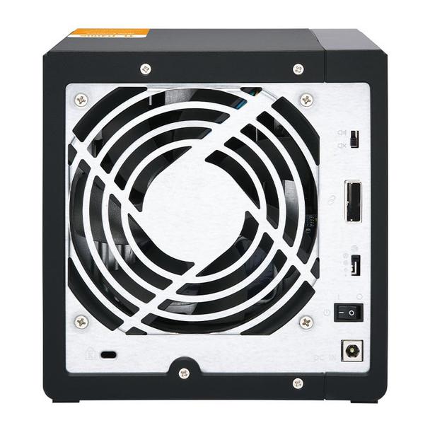 QNAP TL-D400S 4 Bay Desktop JBOD SATA Storage Expansion Enclosure Product Image 2