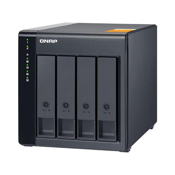 QNAP TL-D400S 4 Bay Desktop JBOD SATA Storage Expansion Enclosure Product Image 4