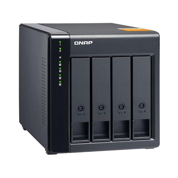 QNAP TL-D400S 4 Bay Desktop JBOD SATA Storage Expansion Enclosure Product Image 5