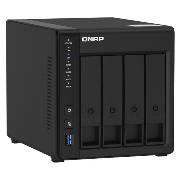 QNAP TS-451D2-2G Desktop 4-Bay Diskless NAS Intel Dual-Core 2GB RAM Product Image 2