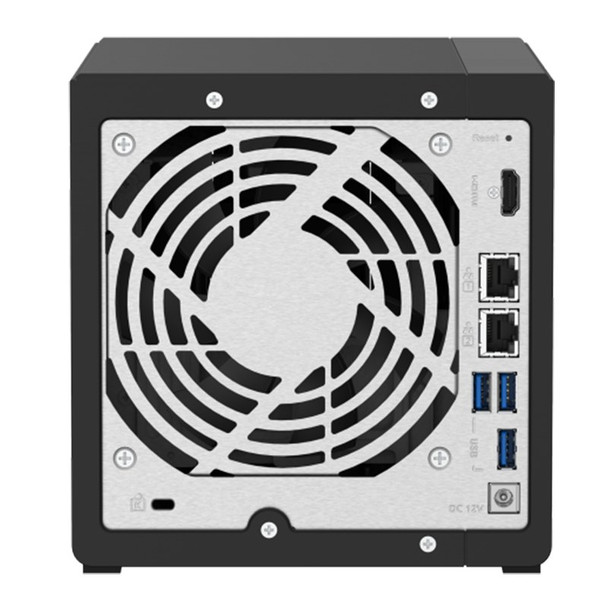 QNAP TS-451D2-2G Desktop 4-Bay Diskless NAS Intel Dual-Core 2GB RAM Product Image 4