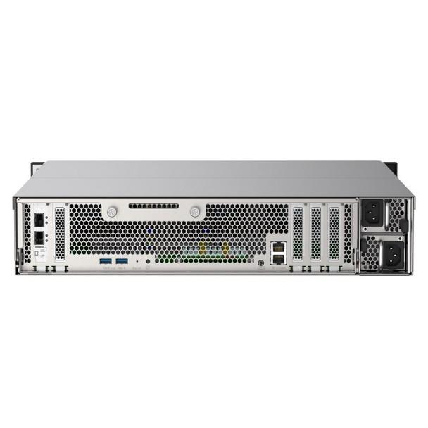 QNAP TS-h2490FU-7232P-64G Rackmount 24-Bay Diskless NAS AMD EPYC 8-Core 64GB Product Image 4