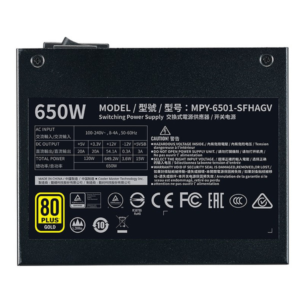 Cooler Master V650 SFX Gold Power Supply Product Image 5