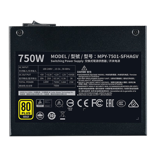 Cooler Master V750 SFX Gold Power Supply Product Image 4