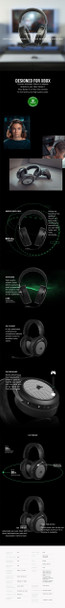 Corsair HS75 XB WIRELESS Gaming Headset for Xbox Series X and Xbox One Product Image 9