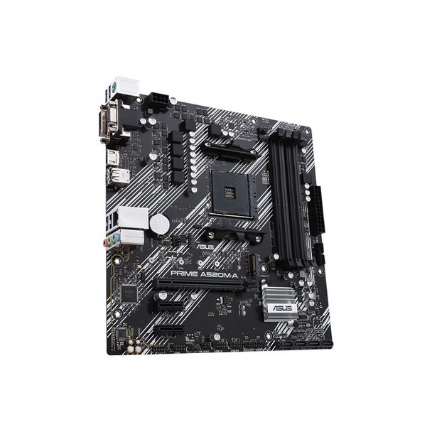 Asus PRIME A520M-A/CSM AM4 Micro-ATX Motherboard Product Image 3