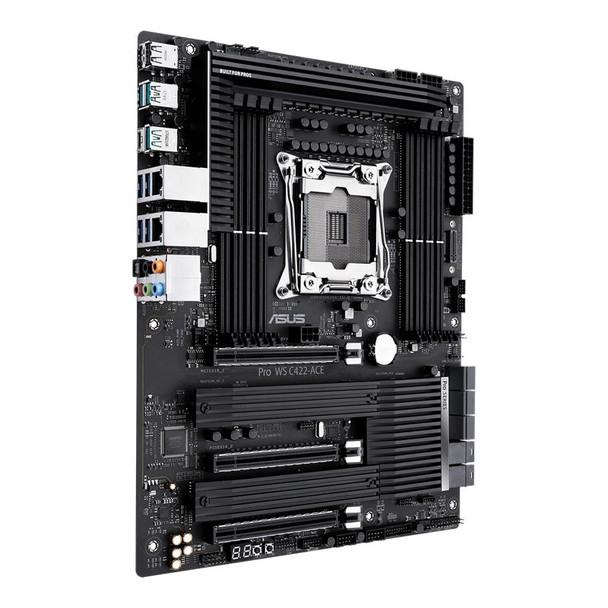 Asus Pro WS C422-ACE LGA 2066 ATX Motherboard Product Image 3