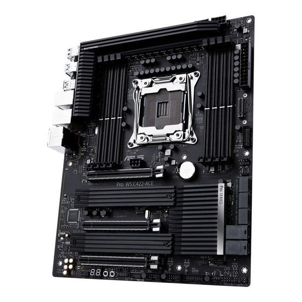 Asus Pro WS C422-ACE LGA 2066 ATX Motherboard Product Image 6