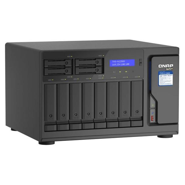 QNAP TVS-h1288X-W1250-16G 12-Bay Diskless NAS Xeon W-1250 6-Core 16GB RAM Product Image 5