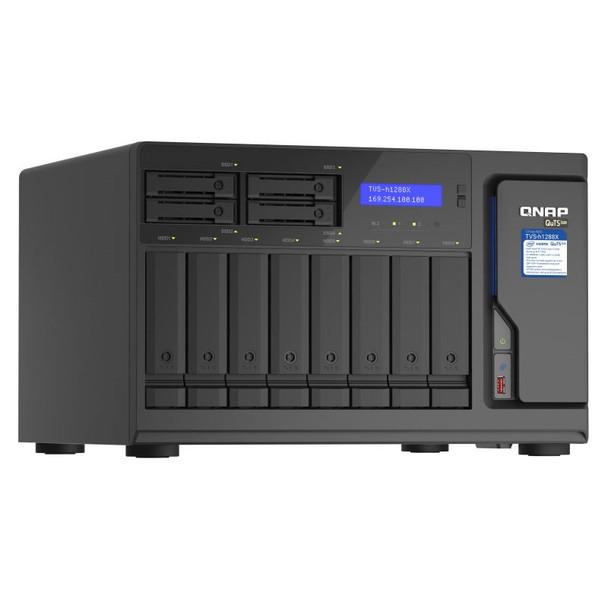 QNAP TVS-h1288X-W1250-16G 12-Bay Diskless NAS Xeon W-1250 6-Core 16GB RAM Product Image 6
