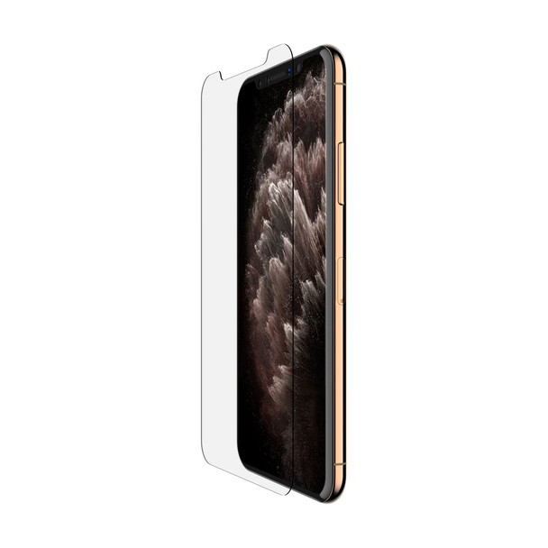Belkin SCREENFORCE Tempered Glass Screen Protector - For Apple for iPhone 11 Pro Max- Clear Main Product Image