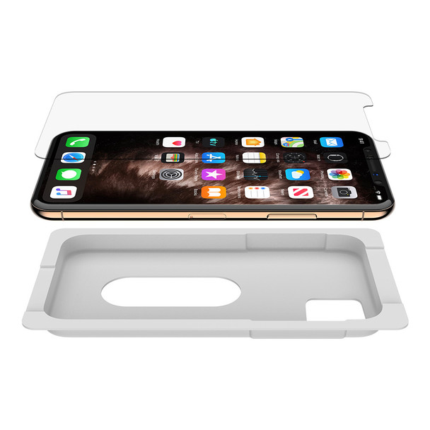 Belkin SCREENFORCE Tempered Glass Screen Protector - For Apple for iPhone 11 Pro Max- Clear Product Image 3