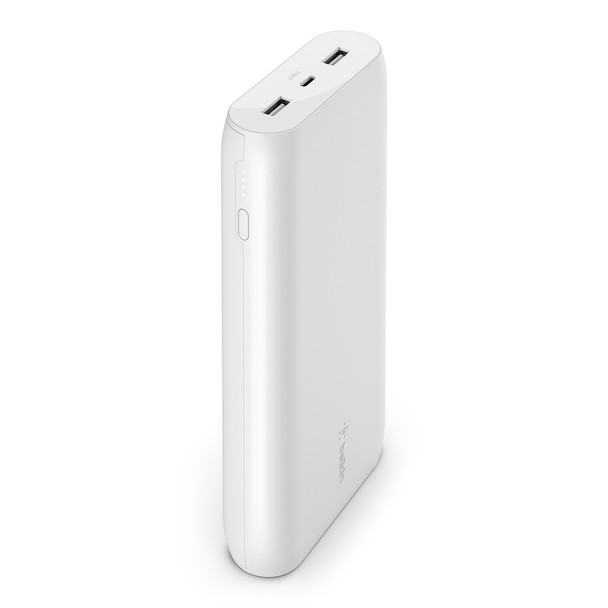 Belkin BoostCharge Power Bank 20K - Universally compatible - White  Main Product Image
