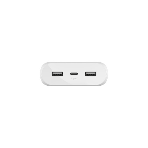 Belkin BoostCharge Power Bank 20K - Universally compatible - White  Product Image 3