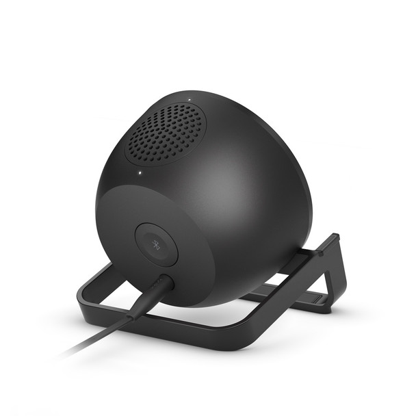Belkin BOOSTCHARGE 10W Wireless Charging Stand and Speaker - Universally compatible - Black Product Image 4