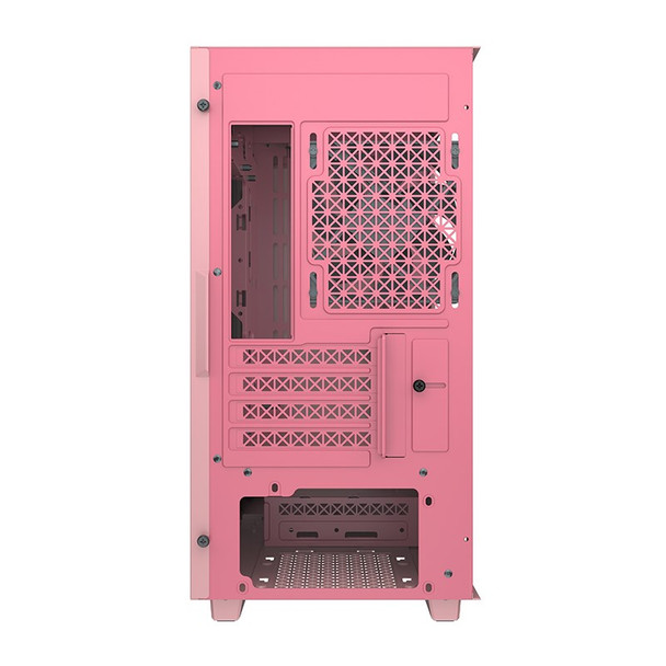 Deepcool MACUBE 110 Tempered Glass Mini Tower Micro-ATX Case - Pink Product Image 4